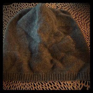 Cashmere winter hat.
